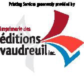Logo Imprimerie des Éditions Vaudreuil